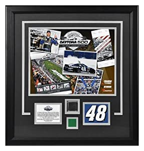 Jimmie Johnson 2013 Daytona 500 Champion Framed 11