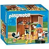 Playmobil - 4492 - Fermiere/Poulailler