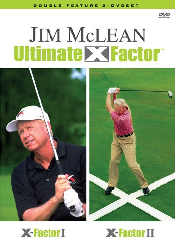 Cover art for  Jim McLean's Ultimate X Factor (2 DVD SET)