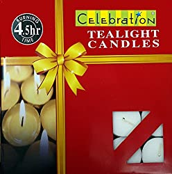 TEA LIGHT CANDLES ( 50 Candles Set)