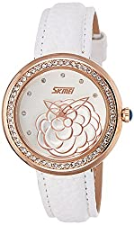 Skmei Analog Multi-Colour Dial Womens Watch - 9087WG