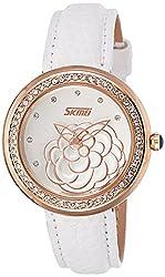Skmei Analog Multi-Colour Dial Womens Watch - 9087WG