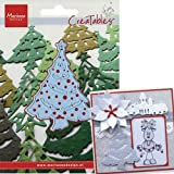 Marianne Design Christmas Creatables Die, Tree 3