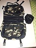 Kany Hunderucksack Einstellbare Satteltaschen--Art-Hunde Zubehör Harness Tasche für mittlere und große Hunde im Freien Wandern Camping-Training (Free Wasserschale enthalten)