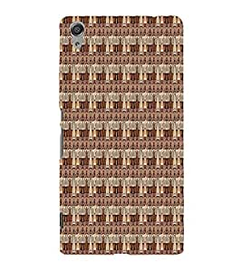Tribal African Cute Fashion 3D Hard Polycarbonate Designer Back Case Cover for Sony Xperia C6