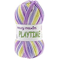 Mary Maxim Y081-103 Playtime Yarn, Grandma's Garden