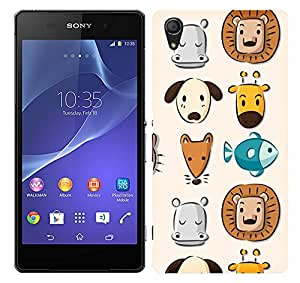 WOW Printed Designer Mobile Case Back Cover For Sony Xperia Z2