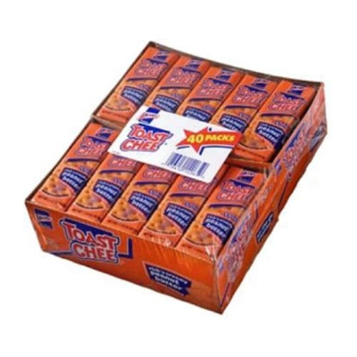 Lance Fresh Toast Chee 40 Pack Cheese and peanut butter sandwich crackers