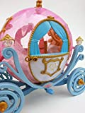 Brigamo 550 – Princess Fairytale Kutsche in Kürbisform mit Beleuchtung UND Elektrischem Pferd, voll beweglich, inkl. Sound - 4