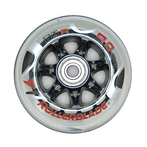 rollerblade performance wheel kit with sg9 quality bearings (8