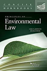 Principles of Environmental Law (Concise Hornbook Series)