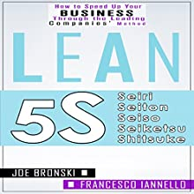 Lean Tools: 5S Audiobook by Joe Bronski, Francesco Iannello Narrated by Harry Roger Williams III