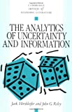 img - for The Analytics of Uncertainty and Information (Cambridge Surveys of Economic Literature) book / textbook / text book