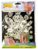 Moshi Monsters: Velvet Colouring Set