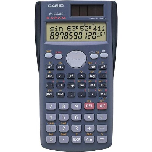 2-Line Student Scientific Calculator Hard Case front-1024187