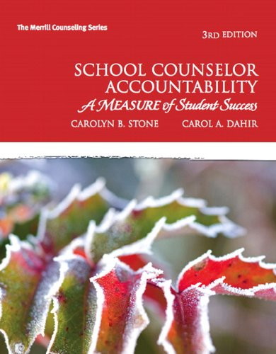 School Counselor Accountability: A MEASURE of Student...