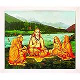 1508-Kanchi Sankaracharyar-White (30.5x35.5)