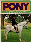 'PONY' MAGAZINE ANNUAL (0361024940) by MICHAEL WILLIAMS