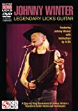 Johnny Winter Legendary Licks Guitar 2 DVD Set