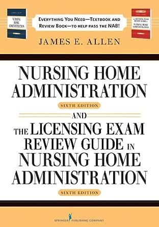 James Allen Nursing Home Administration