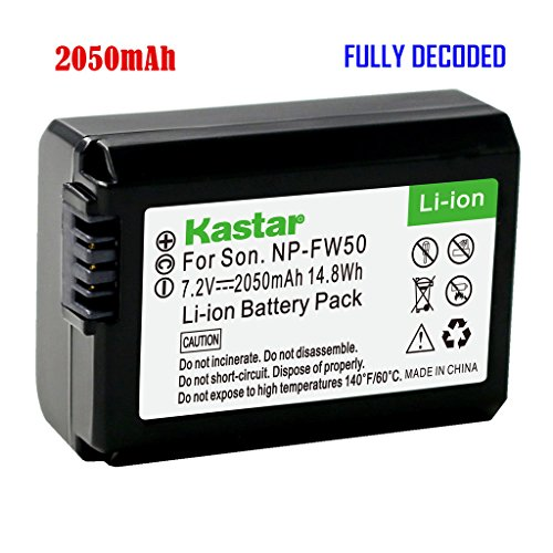 Sony Np-fw50 Sony Replacement Battery Nex-3,nex-5 (Sony Nex 5 Battery compare prices)