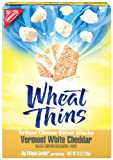 Nabisco Wheat Thins Artisan Cheese Crackers Vermont White Cheddar, 8-Ounce Boxes (Pack of 6)