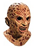 Rubie's Costume Co A Nightmare On Elm Street Super Deluxe Overhead Freddy Krueger Mask, Red, One Size Picture
