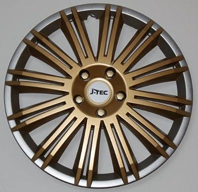 Radkappen/Radzierblenden 15 Zoll DISCOVERY GOLD von octimex - Reifen Onlineshop