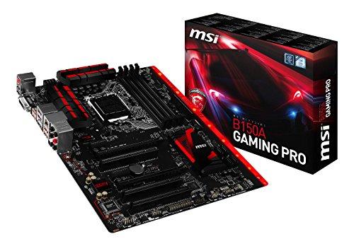 MSI Gaming Intel Skylake B150 LGA 1151 DDR4 USB 3.1 ATX Motherboard (B150A Gaming Pro)