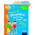 Oxford Reading Tree Read With Biff, Chip, and Kipper: Phonics Activity Book (Levels 1-2) (Read With Biff Chip & Kipper)