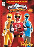 Power Rangers Wild Force Color Book