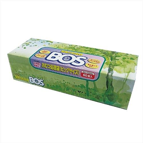 驚異の防臭袋 BOS(ボス)LLサイズ60枚入り 大人用おむつ・うんち処理袋
