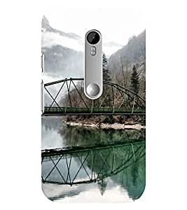 Mental Mind 3D Printed Plastic Back Cover For Motorola 3DMOTOG3-G8605