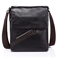 Vicenzo Basics Genuine Leather Messenger / Tablet iPad / Cross Bag