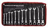 Ratschenschlüssel Gelenkratsche Schlüssel 72 Zähne