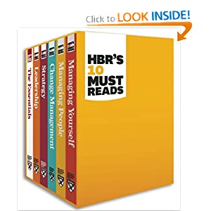 HBR's Must Reads Boxed Set (6 Books) (HBR's 10 Must Reads)