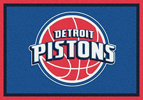 Detroit Pistons Milliken NBA Team Spirit Area Rug (2'8