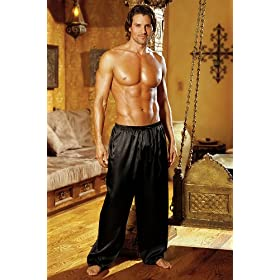 Unisex Sleepwear Pant Red or Black Lounge Pant Pjs