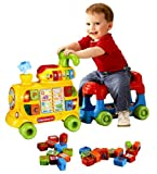 4 in 1 Baby Walker - Push and Ride Alphabet Train