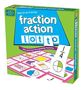 Fraction Action Lotto by Green Board Games