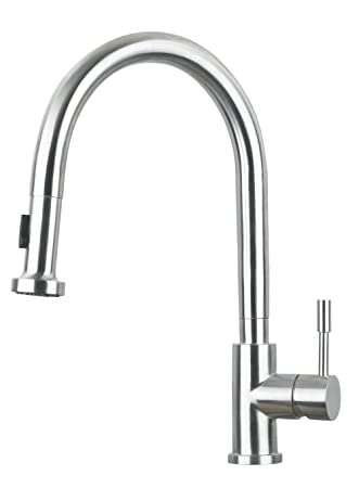 Lenova SK101 Pull Down Solid Stainless Steel Kitchen Faucet