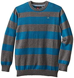 Quiksilver Big Boys\' Lars Sweater, Gunsmoke Heather, Small