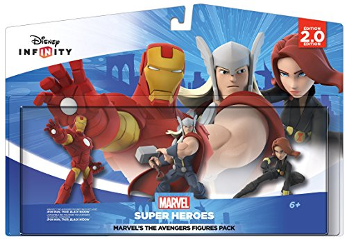 Disney Infinity: Marvel Super Heroes (2.0 Edition) MARVEL'S The Avengers Figure Pack - Not Machine Specific (Iron Man 2 Ps3 compare prices)