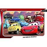 Nathan - 86115 - Puzzle Enfant avec cadre - Cars - 15 Pièces