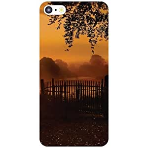 Apple iPhone 5C Phone Cover - Brown Scenery Matte Finish Phone Cover