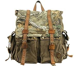 Cooler toile automne/sac à dos couleur camouflage homme