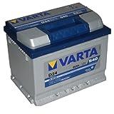 VARTA D24 Blue Dynamic / Autobatterie / Batterie