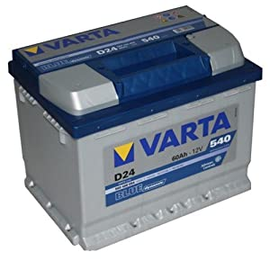 varta d24 blue dynamic autobatterie batterie 60ah. Black Bedroom Furniture Sets. Home Design Ideas