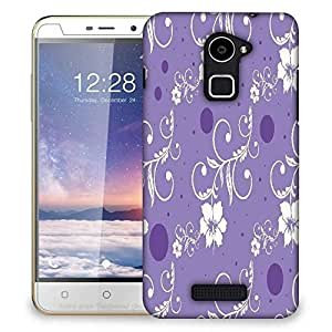 Snoogg seamless floral pattern abstract background Designer Protective Back Case Cover For Coolpad Note 3 Lite