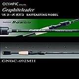 オリムピック (OLYMPIC) グラファイトリーダー '15 ヌーボ ボスコ GNBC-67ML-BF-S (ベイトキャスティングモデル)(Nuovo-Bosco) / バスロッド